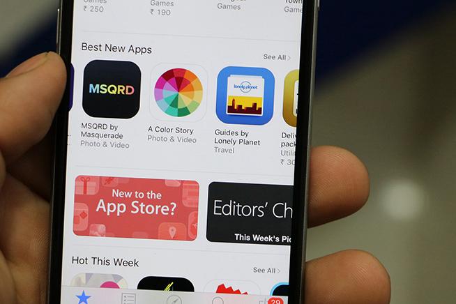 Per scoprire quali applicazioni installar sul proprio iPhone. premi sull'immagine