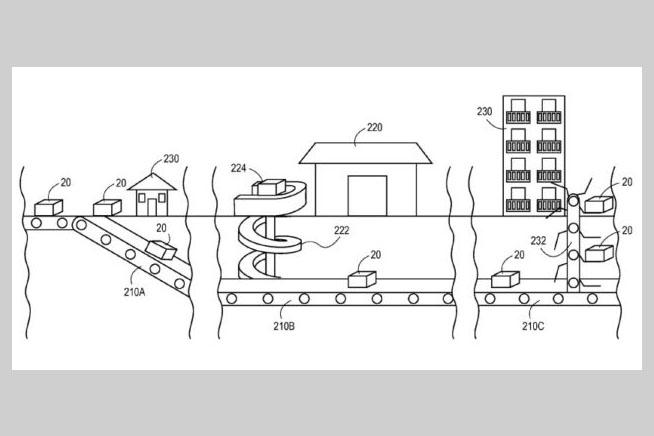 Amazon pronta a costruire dei tunnel sotterranei per for Ufficio jeff bezos