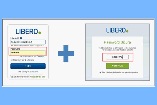 Password Sicura di Libero