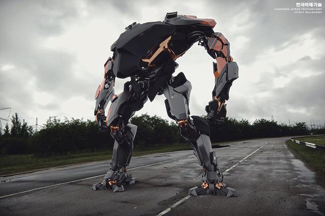 Premi sull'immagine per scoprire il primo robot a guida umana