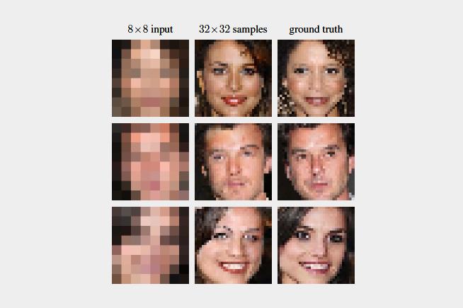 La tecnologia Google Brain riesce a trasformare un'immagine a bassa risoluzione in una di qualità decisamente migliore