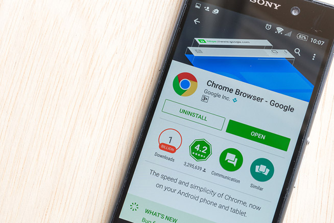 Premi sull'immagine per scoprire come aggiornare il browser dello smartphone per difendersi dagli hacker