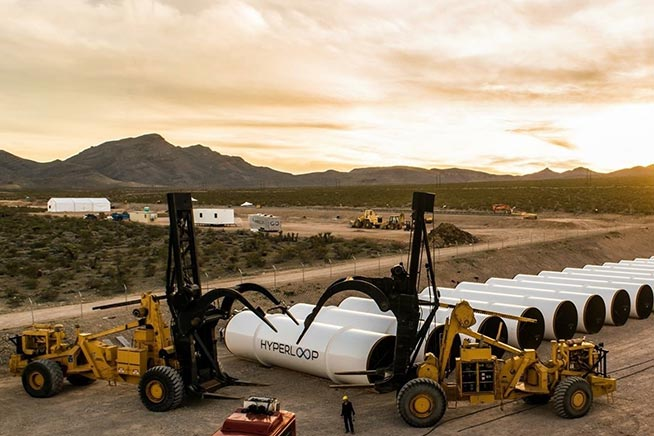 Premi sull'immagine per saper come funziona Hyperloop, il treno che va a 1200 chilometri orari