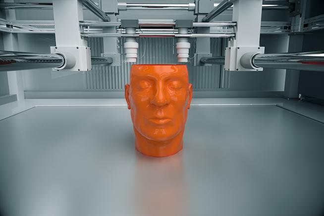 Premi sull'immagine sugli oggetti più strani costruiti con la stampante 3D