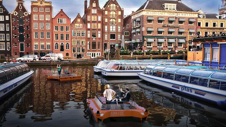 I Roboat trasporteranno merci e persone lungo i canali di Amsterdam