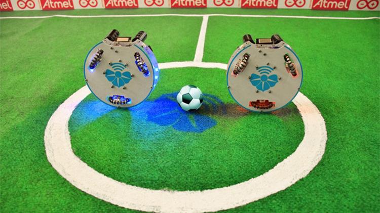 WiSoccero, il futuro del calcio è nei robot. Foto e video