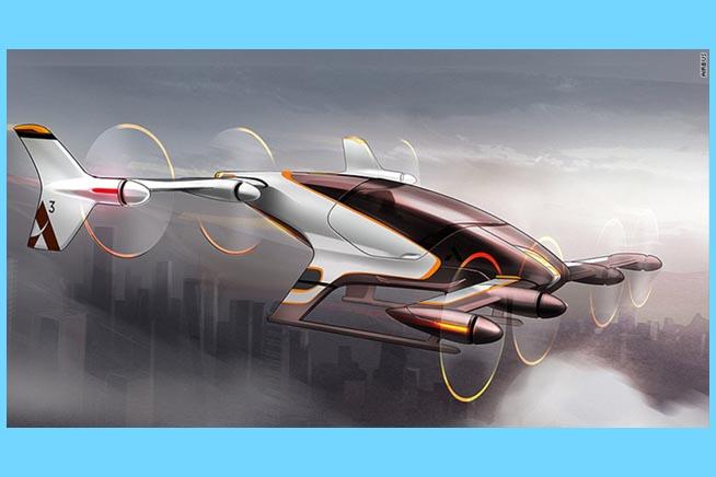 Anche Airbus ha investito nel settore dei taxi volati. Premi sull'immagine per scoprire cosa è il progetto Vahana