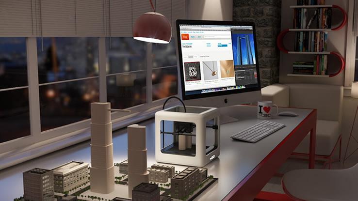 Micro 3D Pro, la stampante 3D piccola, portatile ed economica. Foto