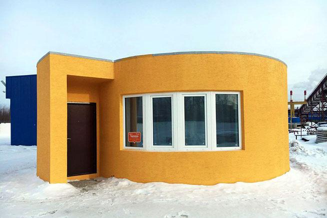 Premi sull'immagine per scoprire Apis Cor, la prima casa costruita in 3D