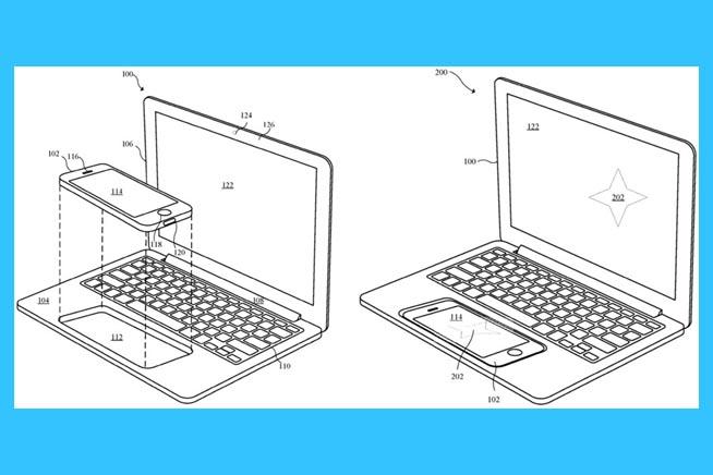 L'immagine del brevetto appena depositato da Apple
