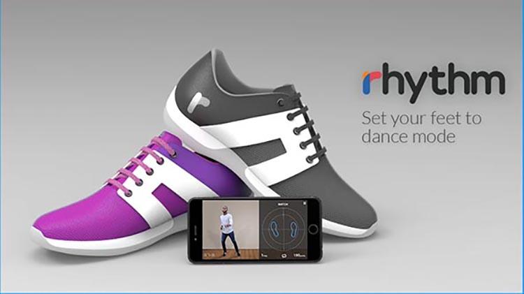 Rhythm Shoes, le scarpe smart che insegnano a ballare