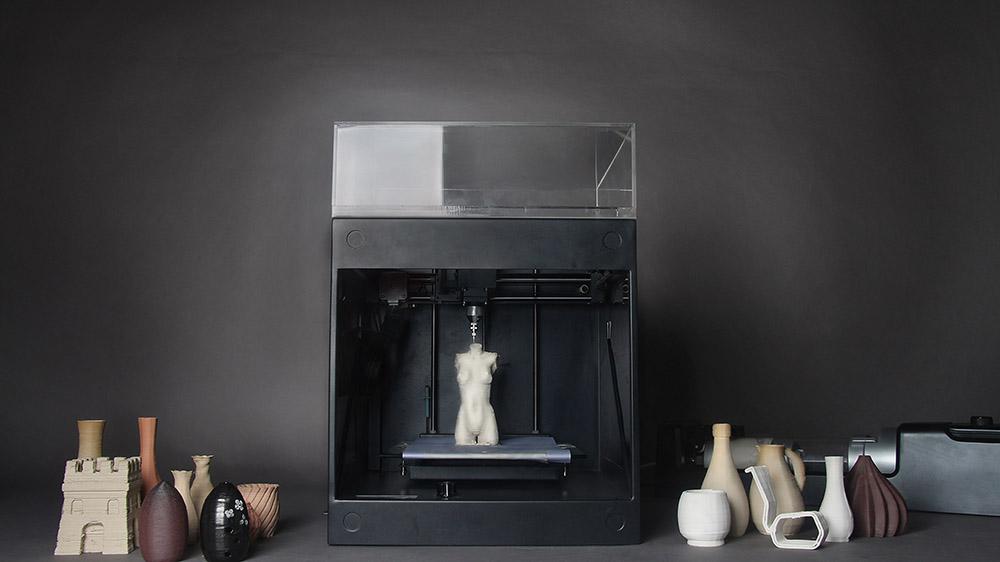 Clay XYZ, la stampante 3D che realizza vasi di ceramica