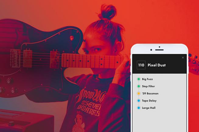 L'app Fender Tone per gli amplificatori Fender Mustang GT consente scaricare e modificare i preset, condividerli o aggiungerli a una playlist da utilizzare durante le proprie esibizioni.