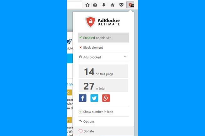 Come disattivare gli adblock solo su un sito con Firefox   Libero