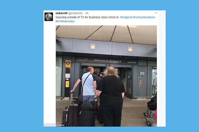 I tweet dei viaggaitori
