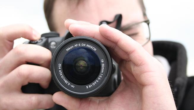 Obiettivo Nikon 18-55 apertura f/3.5-5.6