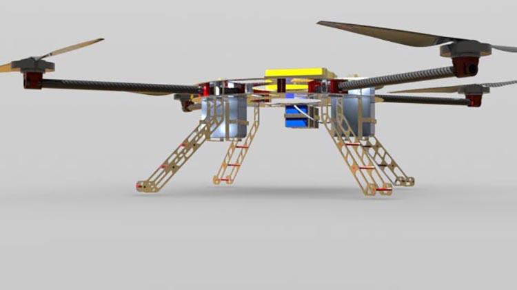 PBKopter, il drone che combatterà le zanzare