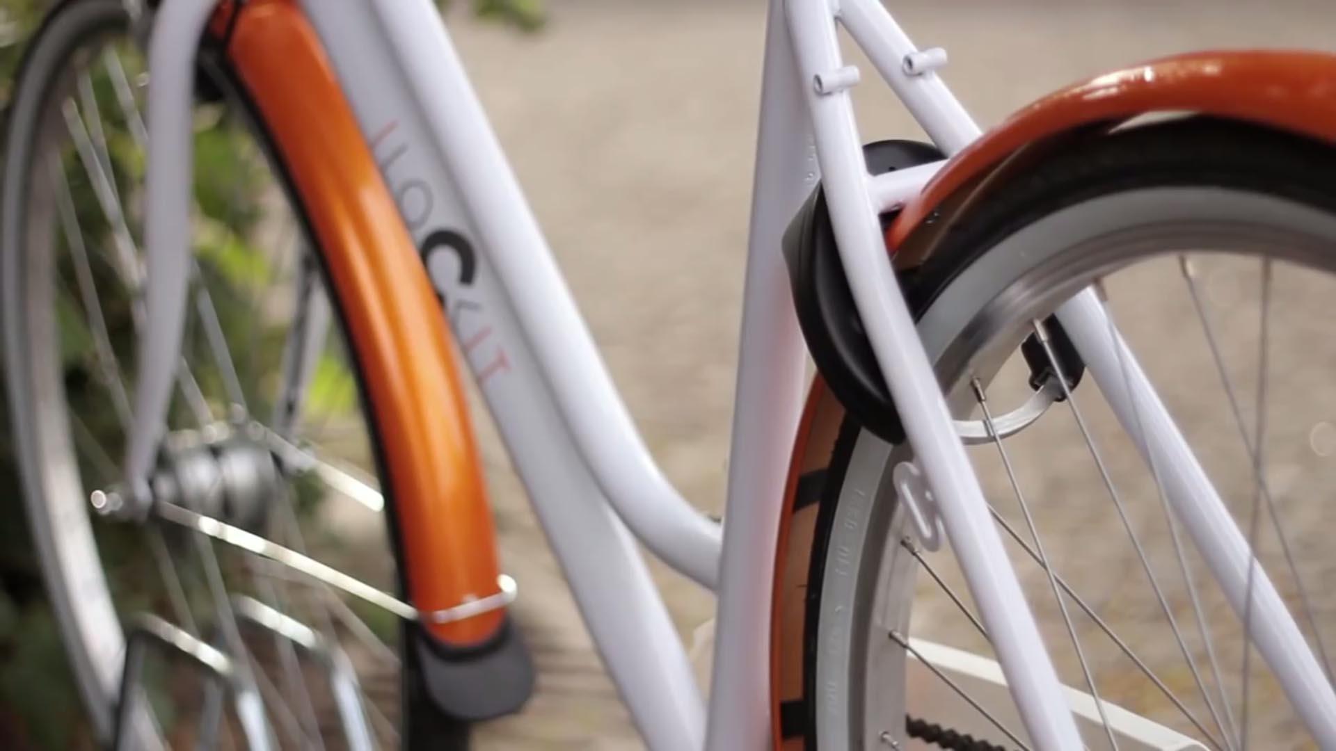 Lock It, il lucchetto per bici che si sblocca col Bluetooth