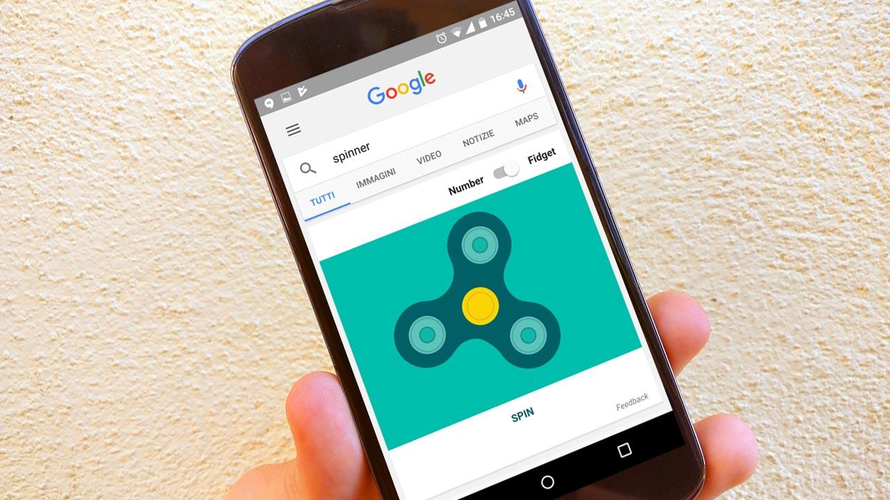 Spinner mania, anche Google ne ha uno e puoi usarlo anche tu