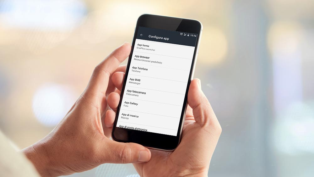 Come cambiare le app predefinite di Android