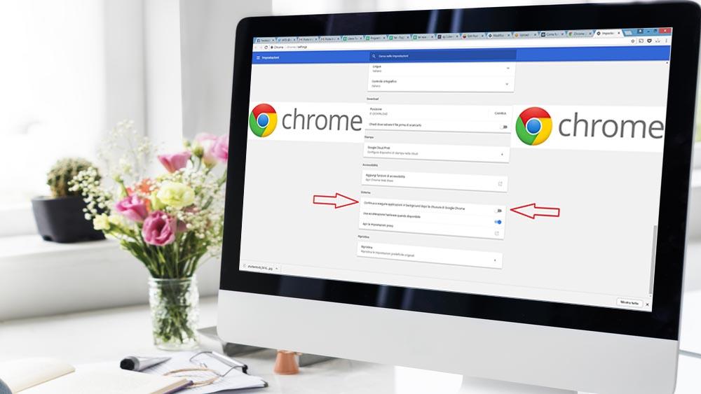 Come bloccare Chrome in background e salvare la batteria del notebook
