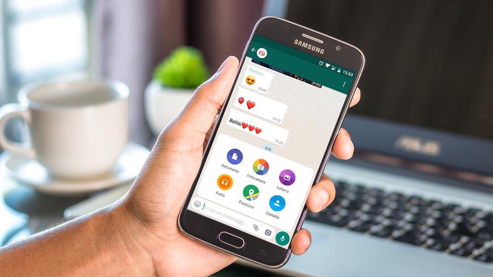 Come inviare foto in alta risoluzione con WhatsApp