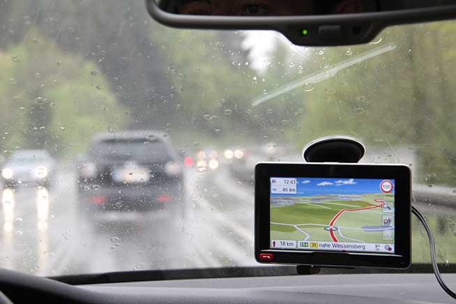 Pioggia e GPS