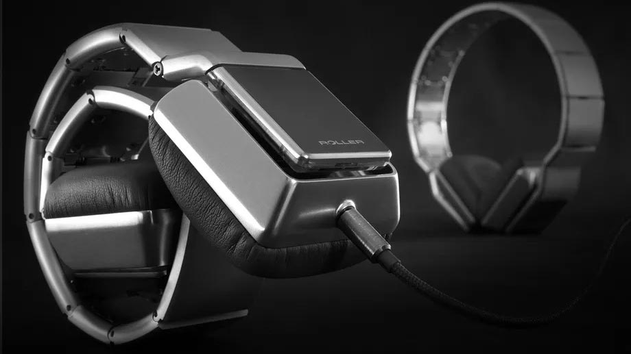 Luzli Roller MK01, le cuffie che si arrotolano