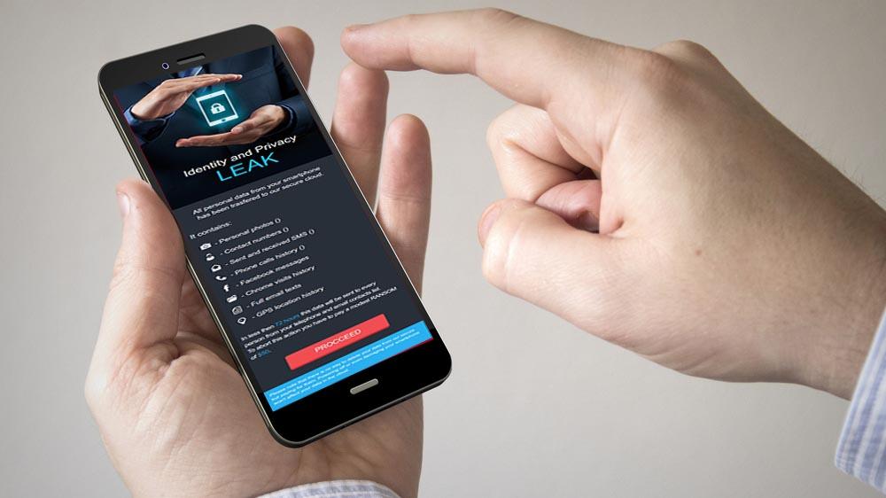 Ransomware Android minaccia di inviare la tua cronologia ai contatti