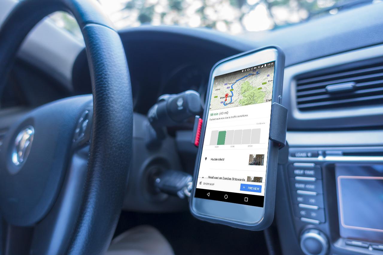 Google Maps, nuova interfaccia per migliorare la funzione navigatore