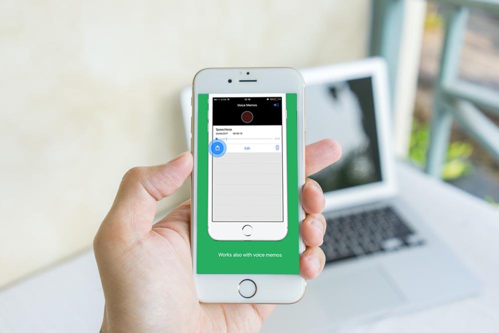 Come trasformare le note vocali WhatsApp in testi