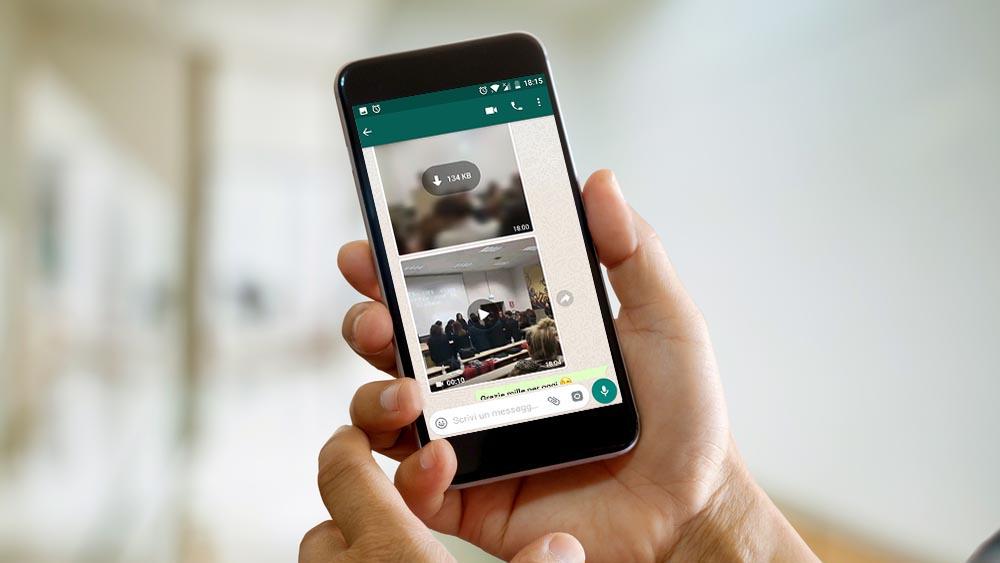 Video WhatsApp e Android O, la finestra vi segue in primo piano