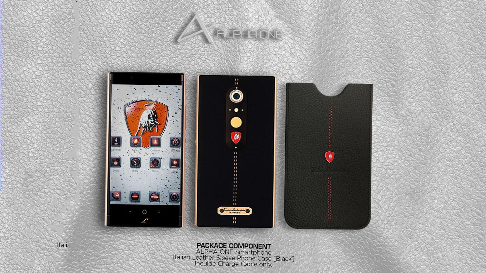 Lamborghini Alpha-One, lo smartphone di lusso e indistruttibile