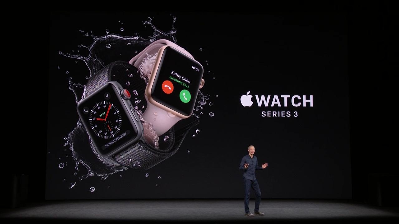 Apple Watch 3, più potente e fa anche le chiamate (ma non in Italia)