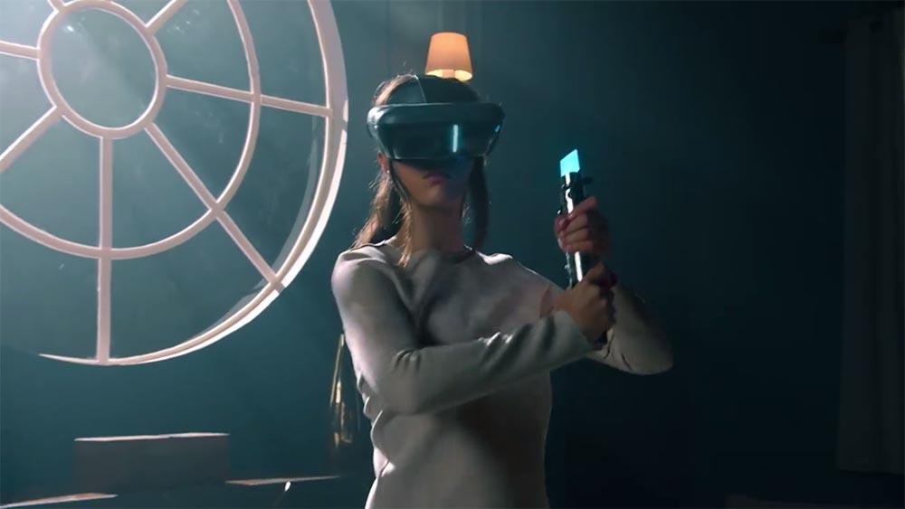 Jedi e spada laser, Lenovo trasforma un sogno in realtà (virtuale)