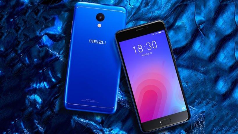 Meizu M6, lo smartphone cinese con corpo in metallo che costa 100 euro