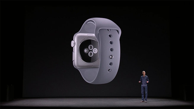 Sensore cardiaco dell'Apple Watch 3