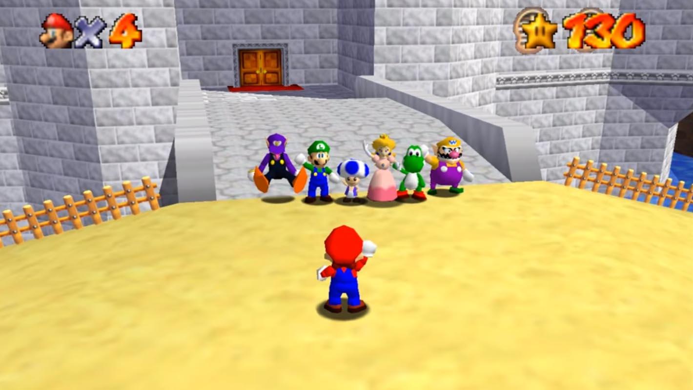 Super Mario 64 sbarca sul web e diventa multiplayer