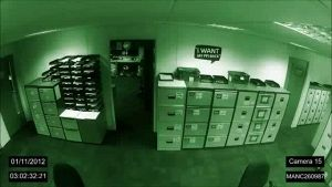 Paranormal activity in ufficio