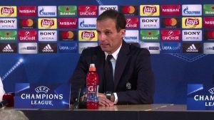 Champions League, Allegri: bravi con Monaco, non era facile
