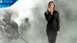 Belen Rodriguez presenta Call of Duty