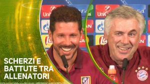 Atletico VS Bayern, si ride e si scherza nel prepartita