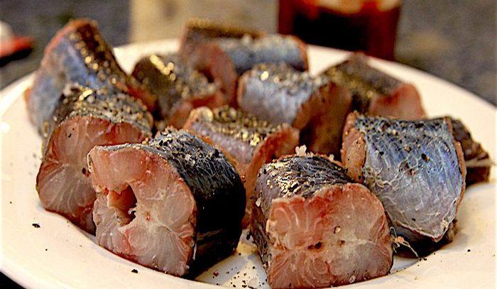 Anguille marinate