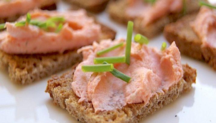 Mousse salmone e Philadelphia con il Bimby