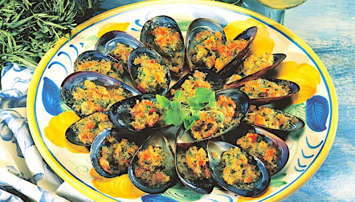 Cozze all'andalusa