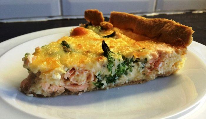 Crostata di salmone: un'idea alternativa per un antipasto di classe