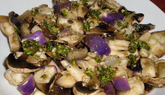 Melanzane in insalata