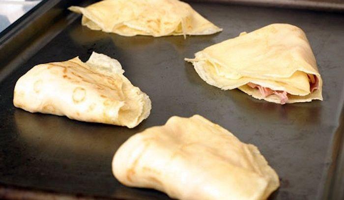 Crepes del Vallese al formaggio