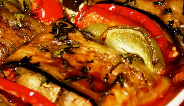 Kebab alle melanzane