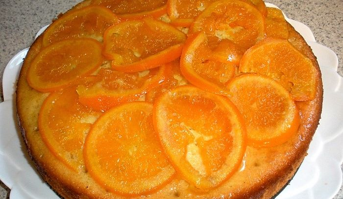 Torta di arance del Portogallo